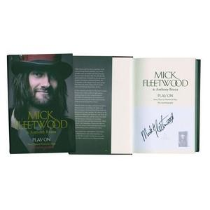 Mick Fleetwood - Autograph - Signed Book