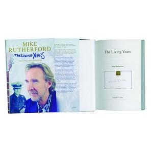 Mike Rutherford - Autograph - Signed Book
