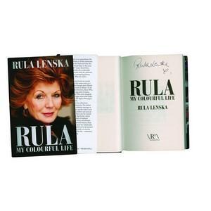 Rula Lenska - Autograph - Signed Book1