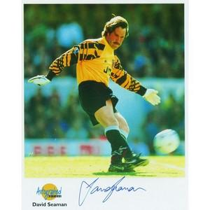 David Seaman - Autograph - Signed Colour Photograph