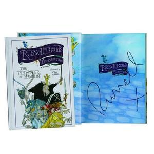 Russell Brand signed book