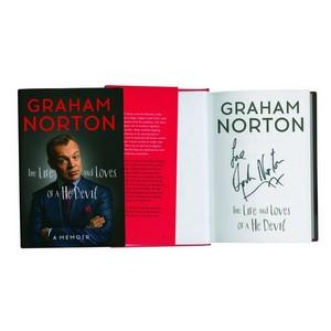 Graham Norton - Autograph - Signed Book