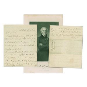 Duke of Wellington - Signature - Signed Handwritten Letter