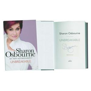 Sharon Osbourne - Autograph - Signed Book