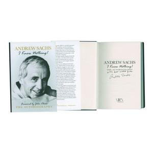 Andrew Sachs Autograph - Signed Book