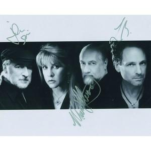 Fleetwood Mac Autographs (Fleetwood, Buckingham & McVie) - Signed Photograph