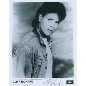 Cliff Richard Autograph - Signed Photograph