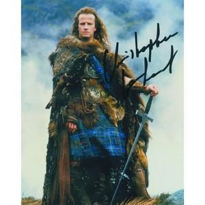 Christopher Lambert Autograph Signed Photograph