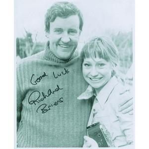 Richard Briers Autograph Signed Photograph