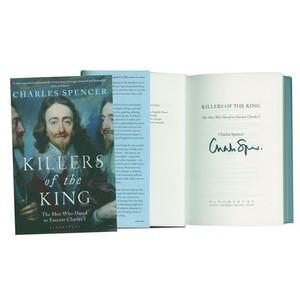 Charles Spencer Author  'Killers of the King' Autograph - Signed Book