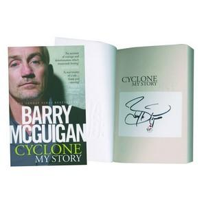 Barry McGuigan 'Cyclone My Story' Signed Book