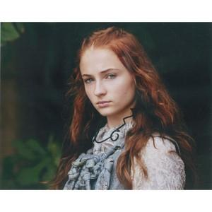 Sophie Turner Autograph Signed Photograph -  Game of Thrones -  Sansa Stark