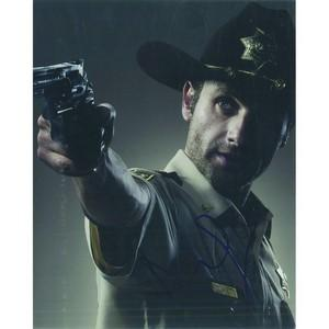 Andrew Lincoln Autograph Signed Photograph