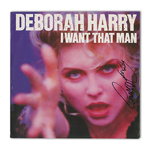 Debbie Harry Autograph Signed Photograph