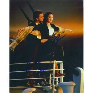 Leonardo DiCaprio & Kate Winslet Signed Photograph