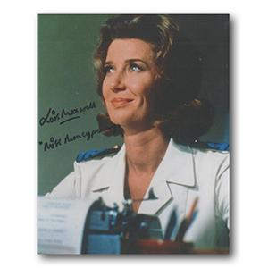 Lois Maxwell Autograph Signed Photograph