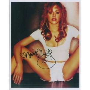 Brittany Murphy Autograph Signed Photograph