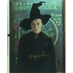 MAGGIE SMITH Genuine Autograph - Comes with a Certificate of Authenticity (COA)