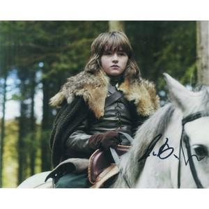 Isaac Hempstead-Wright Autograph Signed Photograph