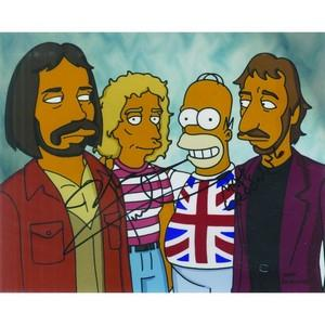 Matt Groening & Pete Townshend Autograph - The Simpsons