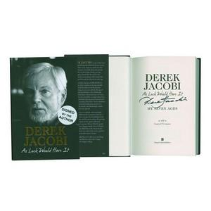 Derek Jacobi Signed Book