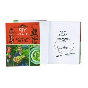 Raymond Blanc 'Kew on a Plate' Signed Book
