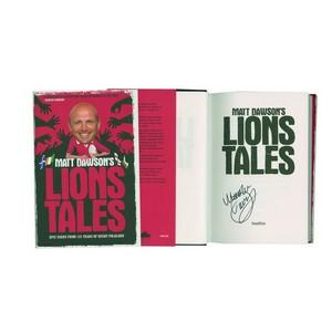 Matt Dawson Signed Book