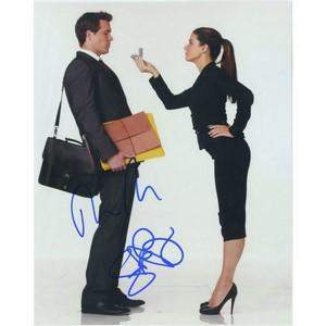 Sandra Bullock & Ryan Reynolds Signed  Photograph