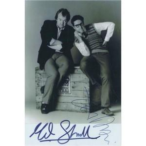 Mel Smith & Griff Rhys Jones Autograph Signed Photograph