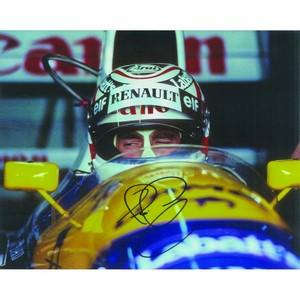 Nigel Mansell Autograph Signed Photograph