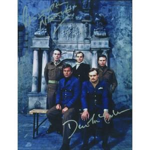 David McCallum & Christopher Neame Autograph