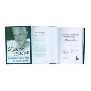 David Essex Signed Book