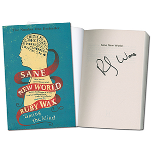 Ruby Wax Signed Book