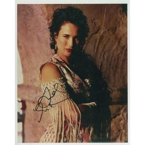 Andie MacDowell Autograph Signed Photograph
