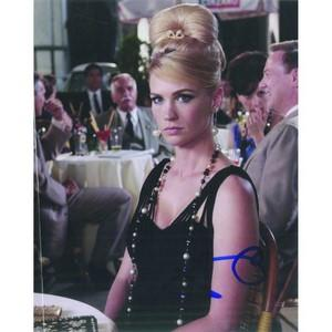 January Jones Autograph Signed Photograph