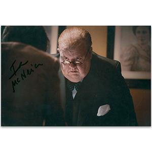 Ian McNeice Autograph Signed Photograph