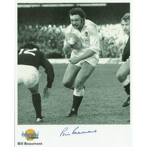 Bill Beaumont Autograph Signed Photograph
