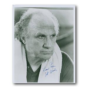 Jack Warden Autograph Signed Photograph