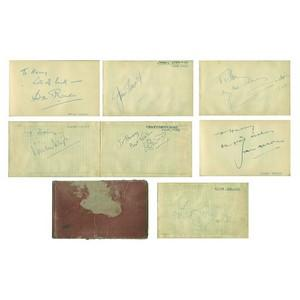 34 Autograph Collection - Film and TV