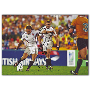 Johnny Wilkinson Autograph Signed Photograph