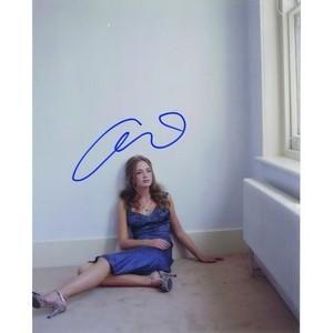 Emily Blunt Autograph Signed Photograph