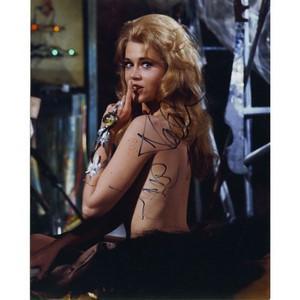 Jane Fonda Autograph Signed Photograph