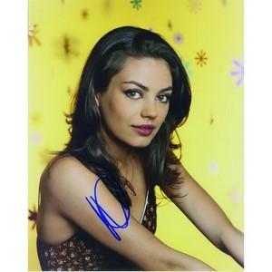 Mila Kunis Autograph Signed Photograph