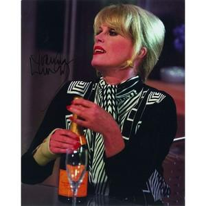 Joanna Lumley Autograph Signed Photograph