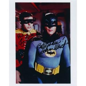 Batman - Adam West & Burt Ward Autograph Signed Photograph