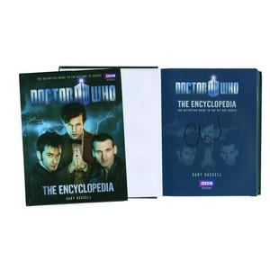 Christopher Ecclestone Signed Doctor Who Book