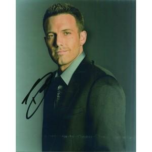 Ben Affleck Autograph Signed Photograph