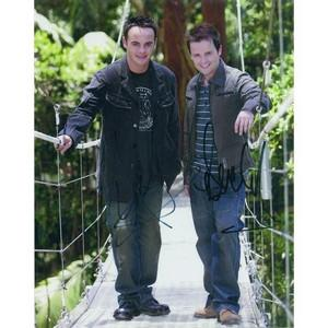Ant & Dec Autograph Signed Photograph