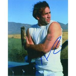Nicolas Cage Autograph Signed Photograph