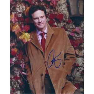 Colin Firth Autograph Signed Photograph
